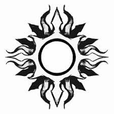 tribal sun by acetheone on deviantart