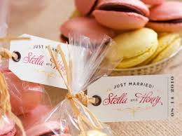 customized wedding favors 10 sweet simple wedding favors for 10 for