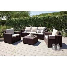 canapé d extérieur pas cher salon de jardin exterieur design mobilier balcon pas cher dans salon