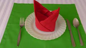 how to make table napkins napkin folding the crown youtube