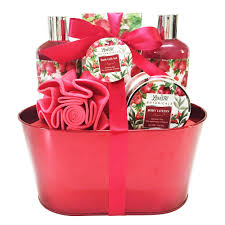 bath gift baskets valentines day spa bath and works gift basket set shower for