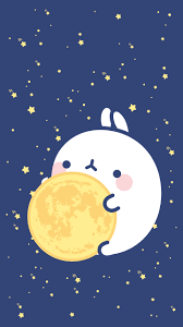 kawaii halloween phone background moon jpg 720 1280 molang pinterest kawaii wallpaper and phone