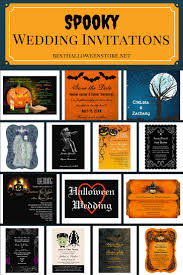 spooky wedding invitations best halloween store