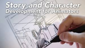 story and character development for animation