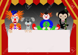 circus puppets characters of the circus stock photo picture and royalty free