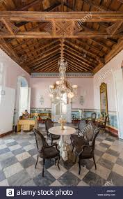 colonial interior interior view of the museo de arquitectura colonial in the town of