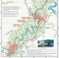 Southern Ohio Map by Pennsylvania Water Trail Guides And Maps