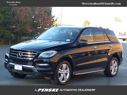 2013 mercedes suv pre owned 2013 mercedes m class ml 350 suv in chantilly