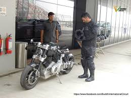 hellcat x132 dhoni dhoni rides his x132 hellcat at buddh international circuit