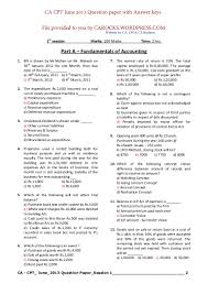 cpt june 2013 question paper with solution carocks wordpress com