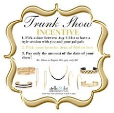 trunk show theme party ideas for stella and dot which one do you