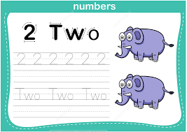 Number 2 Tracing Worksheet Number 2 Tracing Worksheet Free Printable Puzzle Games