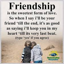 quotes about missing friendship is the sweetest for of