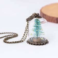 bottle necklace aliexpress images Luminous glass vial necklace bottle necklace retro crystal natural jpg