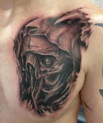 skull reaper tattoos clown for and