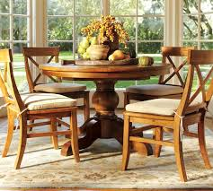 Pottery Barn Willow Table Sumner Pedestal Table Aaron Chair Set Pottery Barn 2675 1