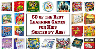 60 of the best learning games for kids sorted by age a fine parent
