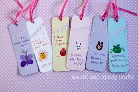 sweet and lovely crafts thumbprint valentine day bookmarks