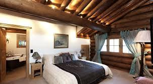 chambre deco bois déco chalet montagne une centaine d idées pour la chambre à coucher