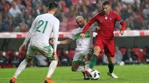 cuisiniste au portugal portugal beat algeria 3 0 in cup warmup stuff co nz