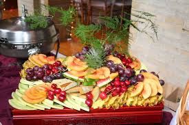 fresh fruit arrangements fantastical fresh fruit arrangements for wedding receptions