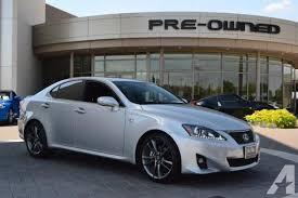lexus is 250 f for sale 2013 lexus is 250 sedan f sport navigation package for sale in