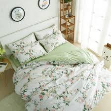 winlife rustic floral bedding set 100 cotton duvet cover set
