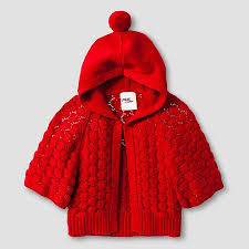 toddler girls u0027 hoodie cardigan red genuine kids target my