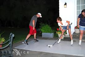 xtraice residential synthetic ice rink sportprosusa