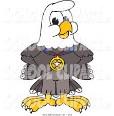 royalty free stock designs of eagle cartoon characters