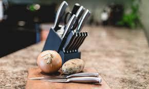 cuisinart kitchen knives cuisinart graphix knife set groupon goods