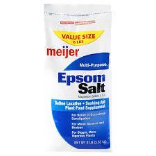 meijer epsom salt 8 lb meijer com