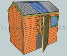 diy garden shed u2013 free plan house ideas pinterest gardens