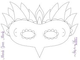 eye mask template 17 free mardi gras mask templates for and adults