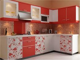 extraordinary straight shape modular kitchen features white brown