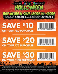 Halloween Costumes Coupons Party Printable Coupon