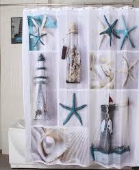 Shower Curtain Washing Machine Bathroom Beautiful Nautical Print With Mandala Patterns Shower