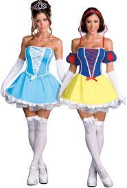 Snow White Halloween Costume Adults Cinderella U0026 Snow White Damsels Distress Reversible Costume