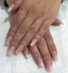 bethel coleman nail artist baby boomer acrylic nails