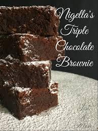 nigella u0027s triple chocolate brownie u2013 just a mum