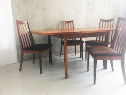 G Plan Dining Room Furniture by Mid Century Original G Plan Extendable Table With 4 Dining Chairs