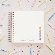 birthday yearbook 1st to 18th birthday memory book by two boys