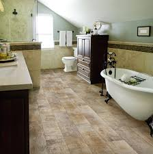 Bathroom Flooring Ideas Vinyl Airstep Evolution Topside Seaport Congoleum Airstep Vinyl