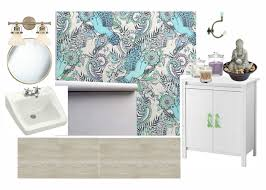 colorful bathroom plans one room challenge week 1 at
