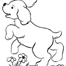 printable dog pictures color cartoonrocks printable dog