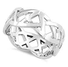 celtic ring sterling silver celtic ring