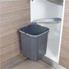 poubelle automatique cuisine poubelle de cuisine ronde encastrable alysta 14 litres