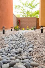 Backyard Pebble Gravel Diy Yard Drainage Solution That Looks Great