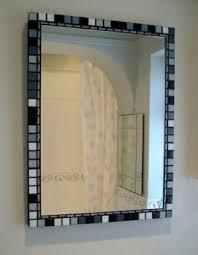 Mosaic Bathroom Mirror Mosaic Bathroom Mirror House Decorations