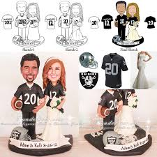 football wedding cake toppers oakland raiders football wedding cake toppers but of course i